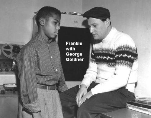 Frankie Lymon VI - with George Goldner