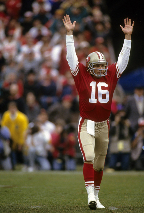 San Francisco 49ers Football - Joe Montana